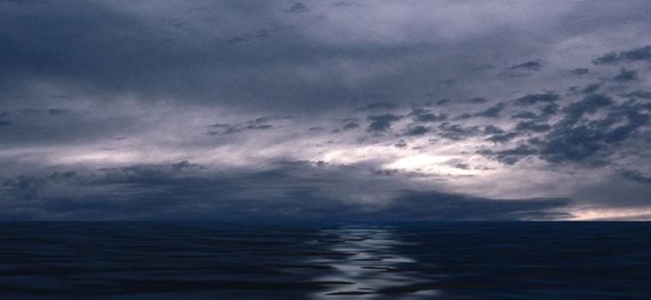 pemandangan lautan yang indah