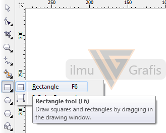 Letak Rectangle Tool