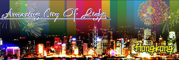 Hongkong Amazing City Of Light