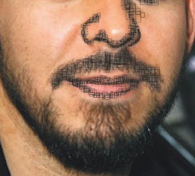 kumis dan bibir