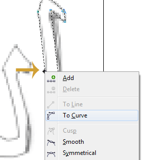 To Curve node