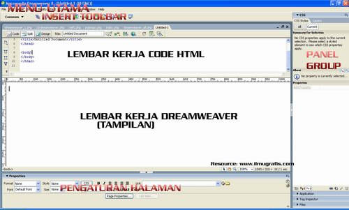layout dreamweaver