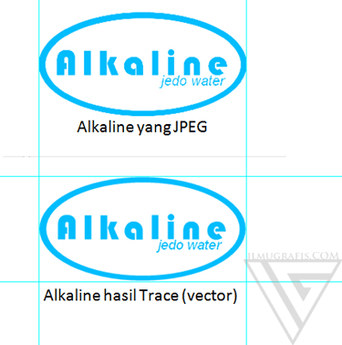 hasil tracing freehand