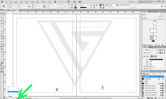 page Numbering InDesign CS 6