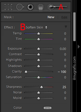 brush adjustment lightroom