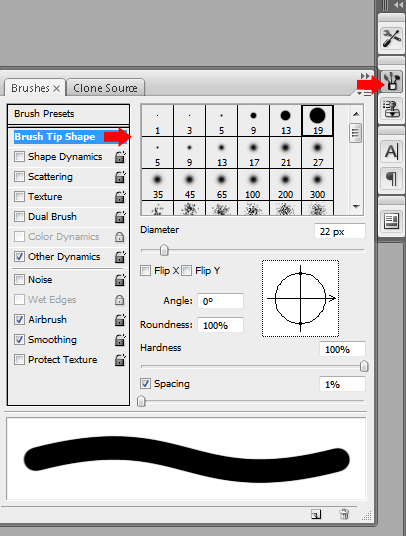 eraser brush tool