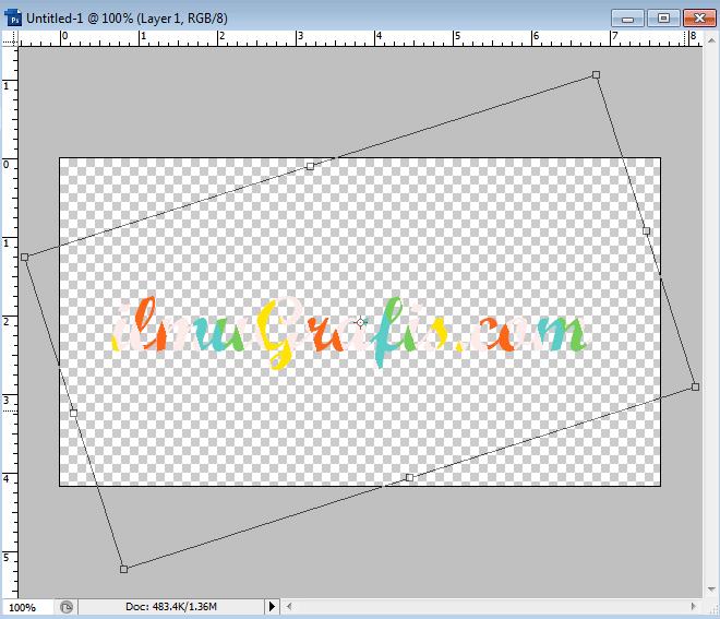 memutar posisi warna lolipop