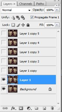 aktifkan layer 1