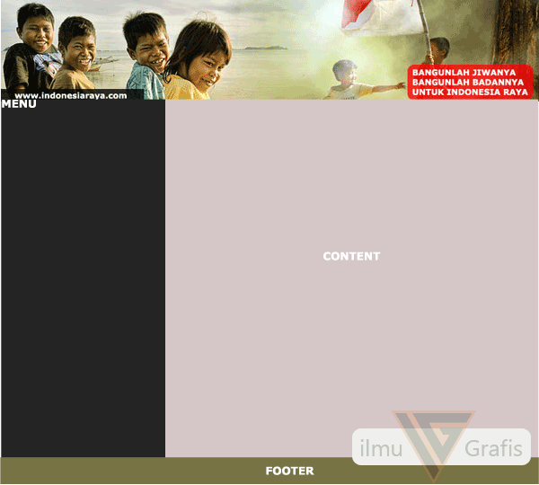 layout website ku