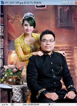 contoh foto pra wedding