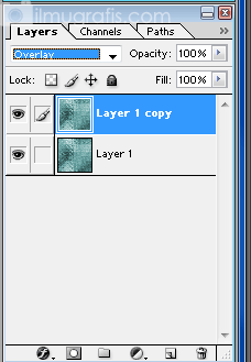 Layer 1 Copy Mode Overlay