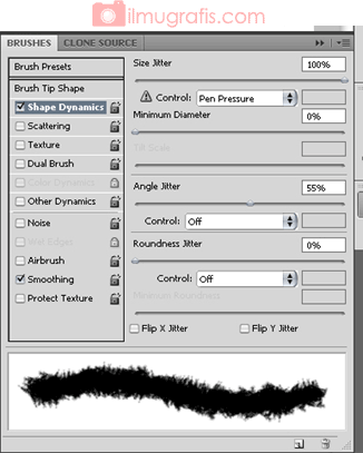 Setting Brush