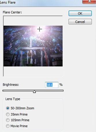 Efek Lens Flare