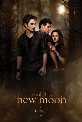 new Moon POSTER MOVIE