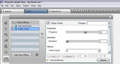 efek water wave
