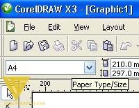 screenshot corel