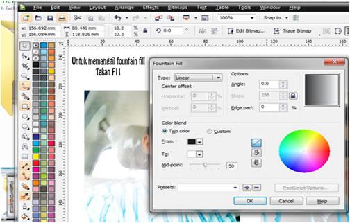 screenshot ilmugrafis corel