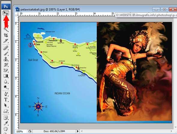 Balinese Dance berada di foto Peta Pulau Bali
