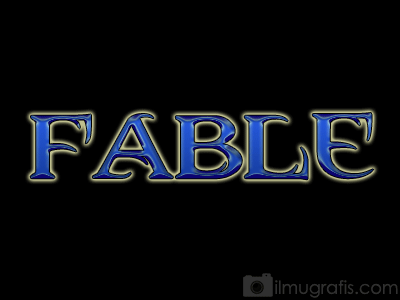 Fable - Shiny Text Effect