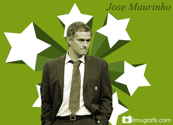 Jose Mourinho Retro style