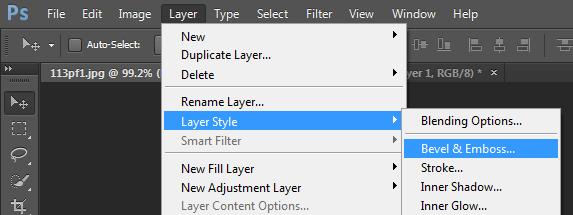 menambahkan blending option