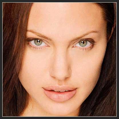 "foto artis favorit saya ""Angelina Jolie"""