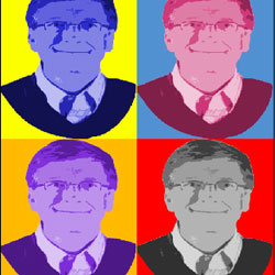 Andy Warholl Style Pop Art